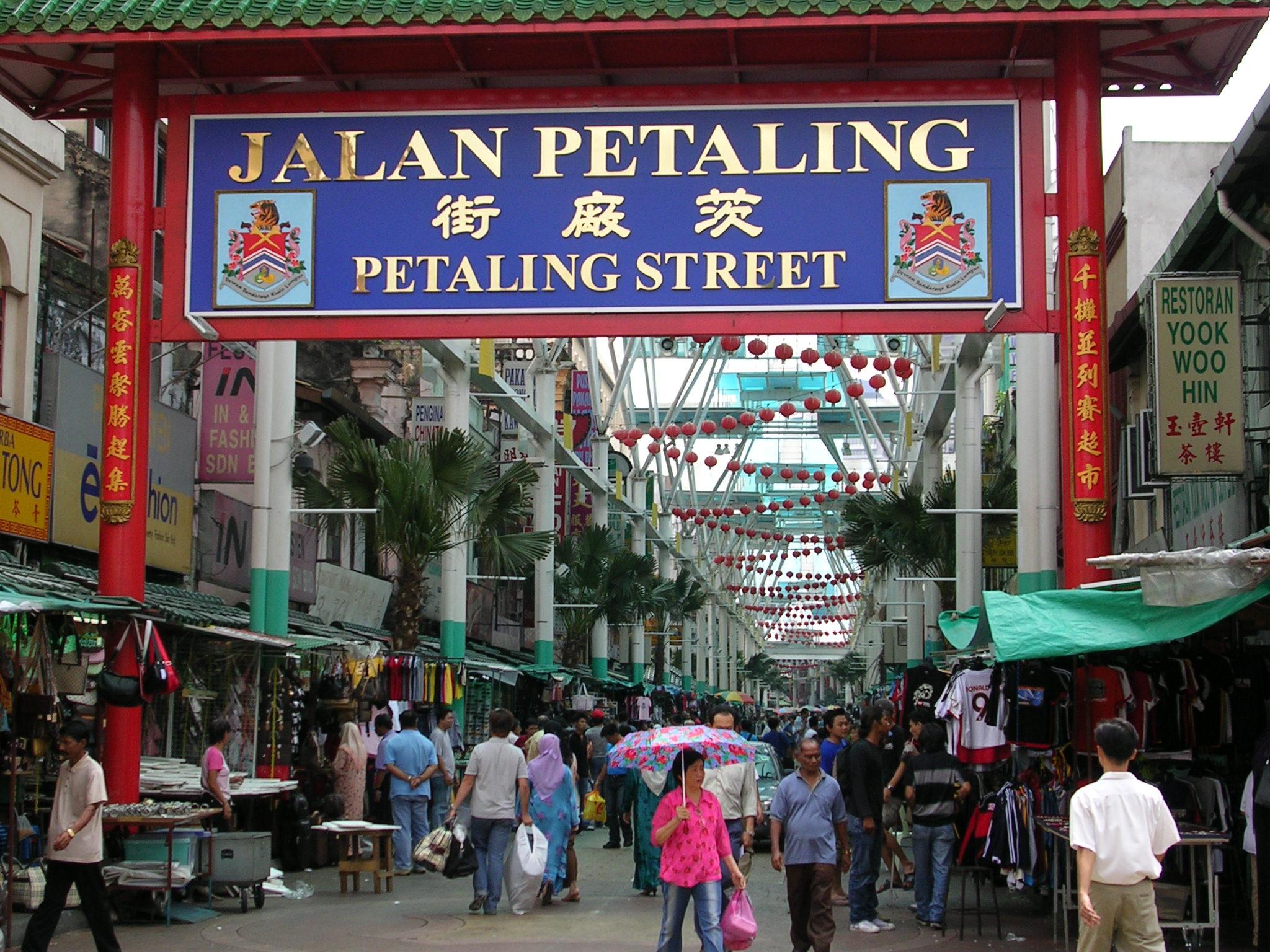 China Town w Malezji
