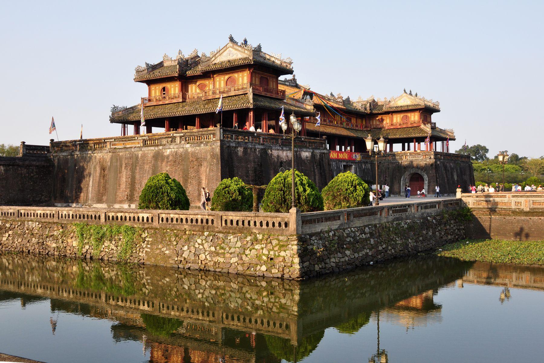 Hue - pałac cesarski