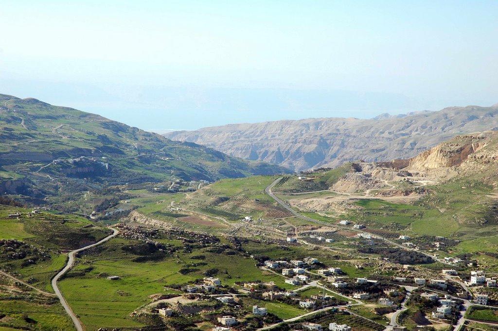 Widok z zamku Al Karak