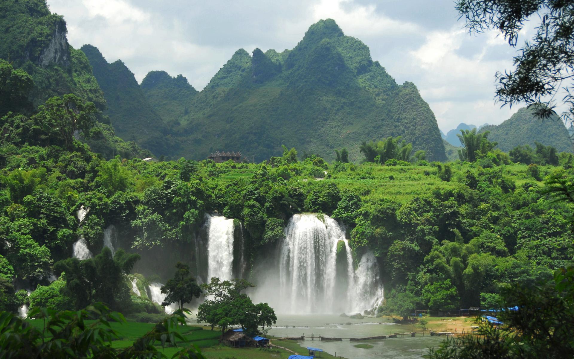 Wietnamski krajobraz