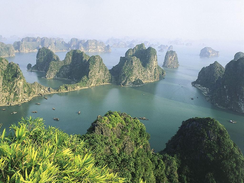 Wietnamskie krajobrazy