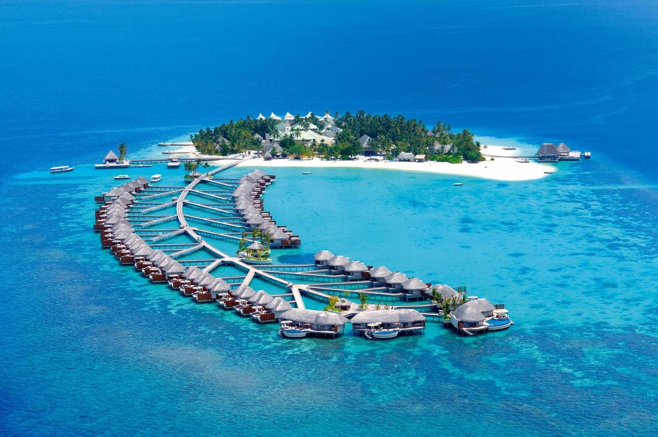 Bungalowy na wodzie na Malediwach