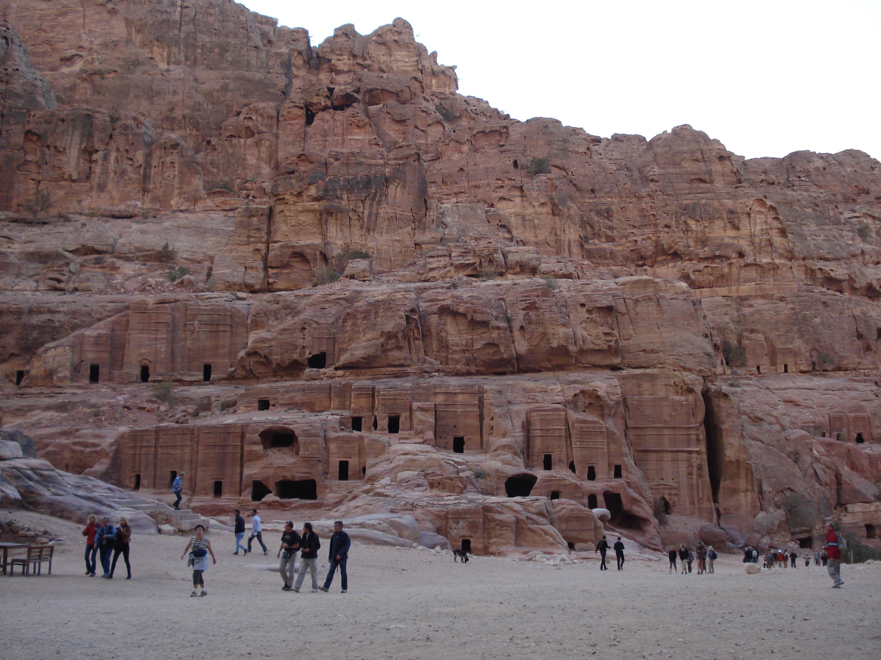 Jordania, Petra - miasto wykute w skale