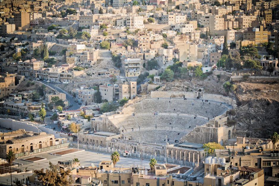 Rzymski amfiteatr w Ammanie