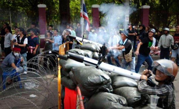 Zamieszki w Bangkoku